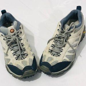 Merrell Womens Vibram Hiking Shoes Size 7.5 EUC